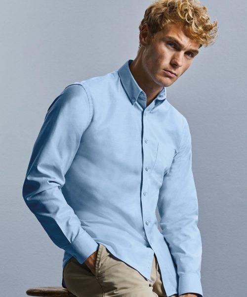 Hemd Langarm Tailored Oxford Button-Down