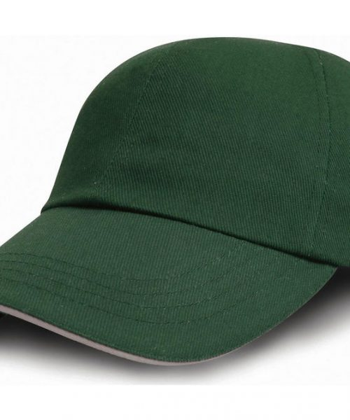 Brushed Cotton Drill Cap
