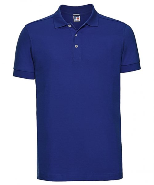Herren Polo Fitted Stretch