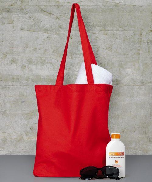 Baumwoll-Tasche lange Henkel