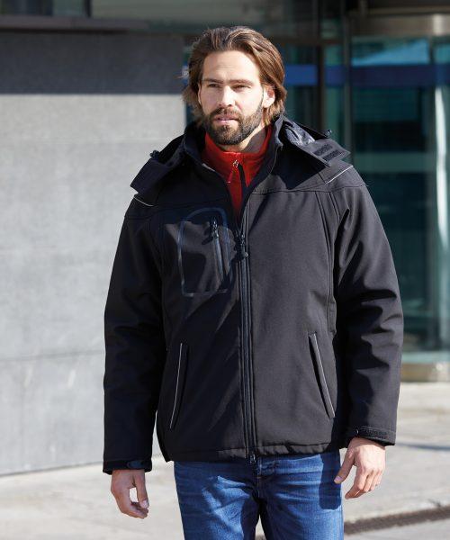 Herren Winter Softshelljacke JN1000