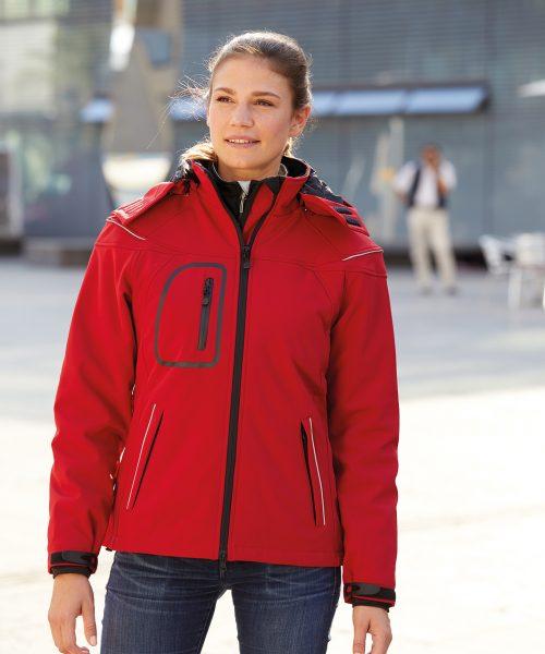 Damen Winter Softshelljacke JN1001
