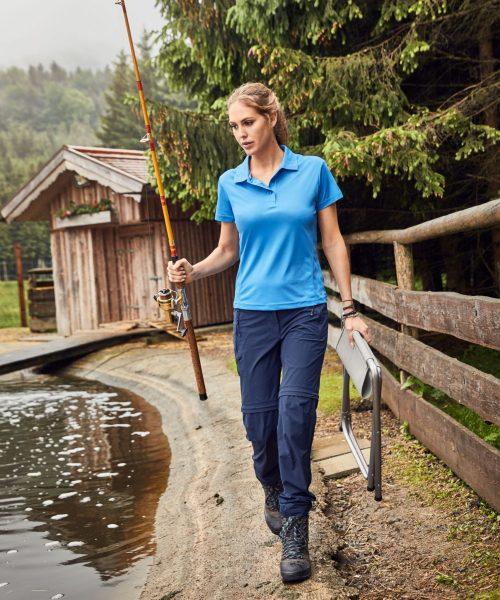 Damen Trekking Zip-Off Hose JN1201