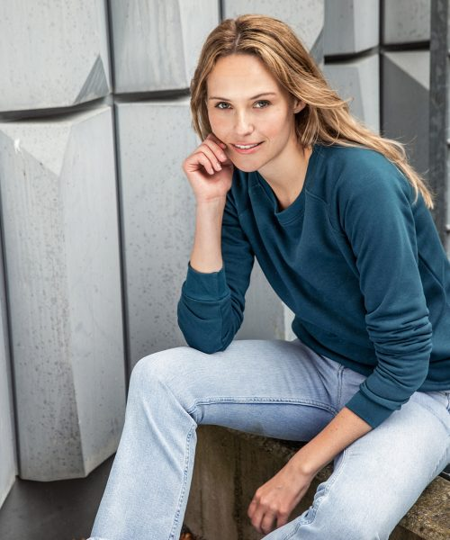 Damen Sweatshirt Promo JN793