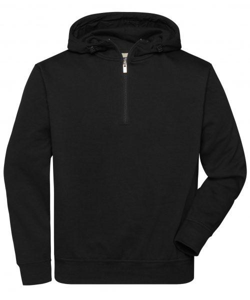 Workwear Bio Half-Zip Hoodie