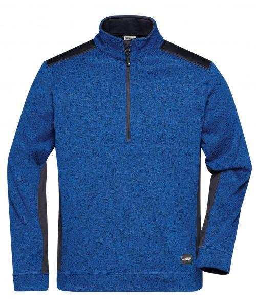Workwear Knitted Fleece Half Zip JN864